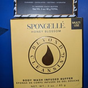 Spongelle honey body wash buffer & Mani pedi set